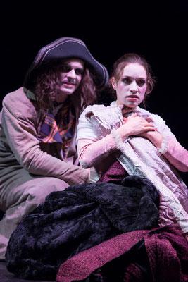 """""""Die Rächer"""" (R.: Bruno Max), Theater zum Fürchten 2014 (mit Florian Graf) (Foto: Bettina Frenzel)"""