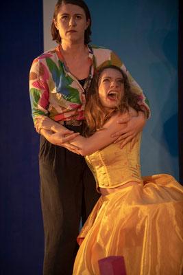 """Volpone"" (R.: P. Raffalt), Festspiele Wangen i.A. 2018 (mit Magdalena Oettl) (Foto: C. Morlok)"