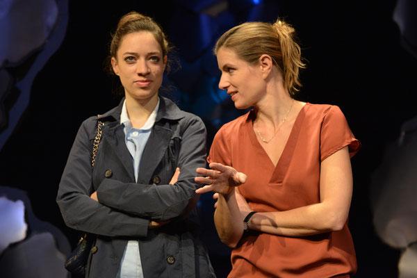 """""""Die Stadt"""" (R.: Hubert Dragaschnig), Theater Kosmos 2015 (mit Suse Lichtenberger)"""