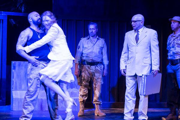 """""""Othello"""" (R.: Bruno Max), Theater zum Fürchten 2016 (mit Tino Führer, Alexander Rossi, Christoph Prückner, Hans Steunzer)"""