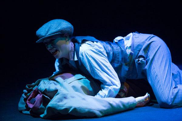 """""""Cymbeline"""" (R: Bruno Max), Theater zum Fürchten, Juni 2013 (Foto: Barbara Frenzel)"""