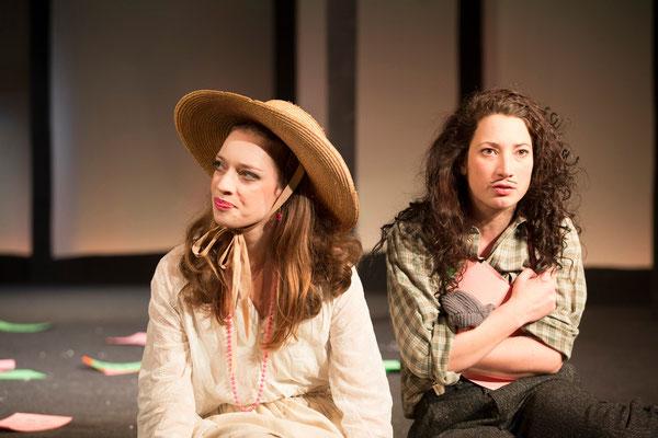 """""""Wie es euch gefällt"""" (R.: Bruno Max), Theater zum Fürchten, Wien 2013 (mit Johanna Withalm) (Foto: Barbara Frenzel)"""