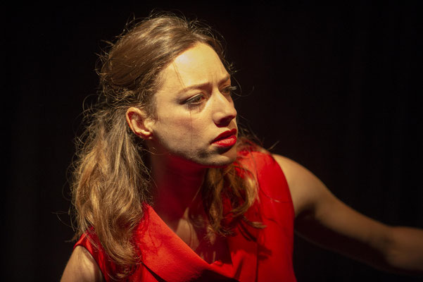 """Heute Abend: Lola Blau"" (R.: P. Raffalt), Festspiele Wangen i.A. 2018 (Foto: C. Morlok)"