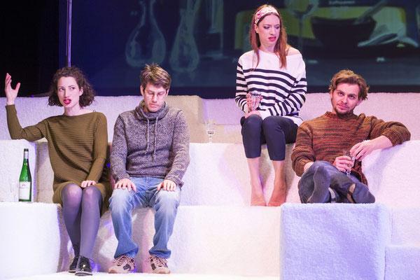 """""""Das Maß der Dinge"""" (R.: R. Henztschel), Theater zum Fürchten 2016 (mit Hendrik Winkler, Florian Graf, Johanna Withalm)"""