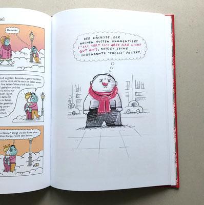 """Originalseite  –  Seite 51  –  aus dem Katz & Goldt-Buch """"Das vierzehnte Buch dieser beiden Herren"""" (2018)"""