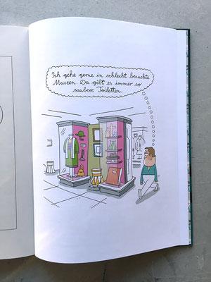 """Seite 75 aus dem Katz und Goldt-Buch """"Lust auf etwas Perkussion, mein kleiner Wuschel?"""""""
