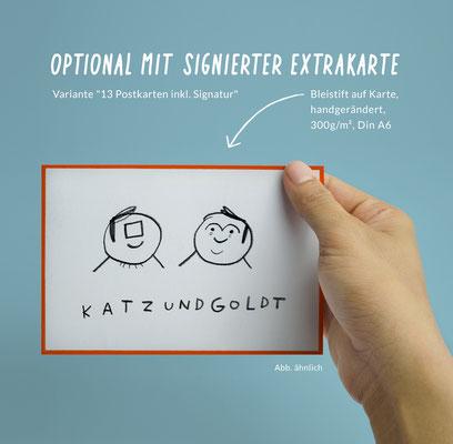 "Postkarten-Set ""Erfolgsgeheimnis"""