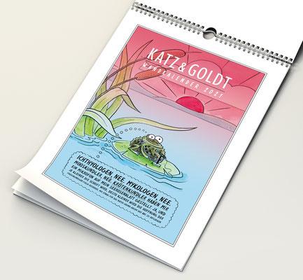 Katz & Goldt-Wandkalender 2021