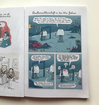 """Originalseite  –  Seite 29  –  aus dem Katz & Goldt-Buch """"Adieu Sweet Bahnhof"""" (2004)."""