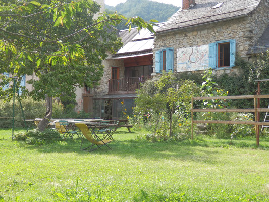 gite d'étape la Colline Verte, St Lizier d'Ustou, Ariège, Pyrénées