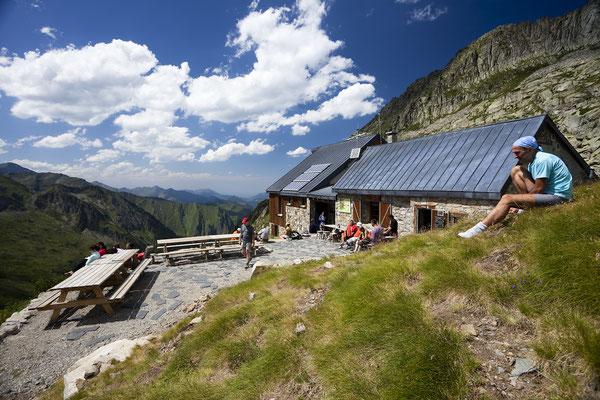 refuge des Estagnous, Mont Valier Ariège, Pyrénées