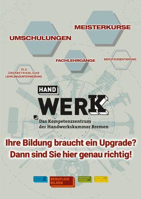 Messeplakat / Kunde: Handwerk Bremen