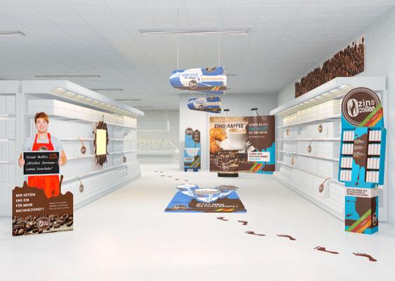 3D-Szene für Gramann Digitaldruck Imagefolder
