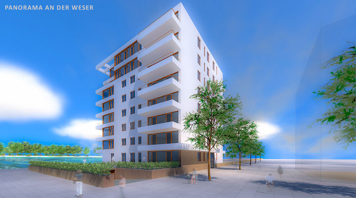 Weser Panorama 3D Visualisation