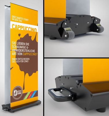 3D Display visualisation -  / Kunde: Printpartner-xxl Webshop