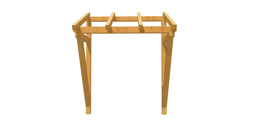 berdachung selber bauen holz. Black Bedroom Furniture Sets. Home Design Ideas