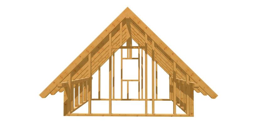 Gartenhaus DIY Anleitung 3m x 3,8m