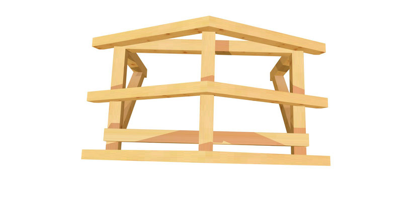 Vordach bauen
