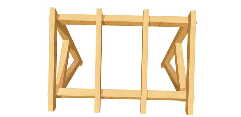 Vordach-Schleppdach