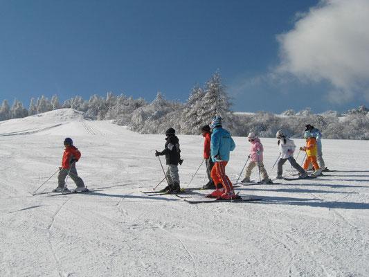 スキー教室(白樺ロイヤルヒル)①
