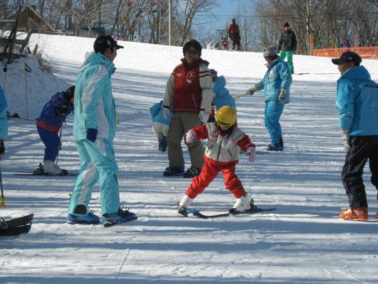スキー教室(白樺ロイヤルヒル)②