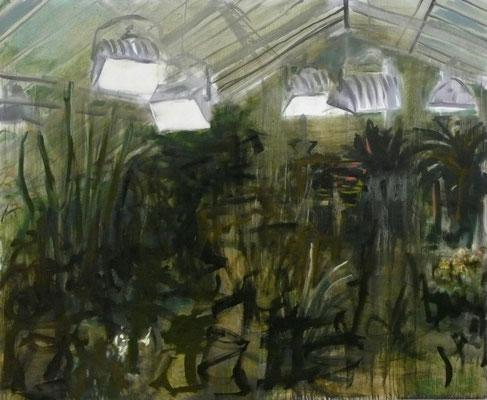 Garten III, Öl auf Leinwand, 2007