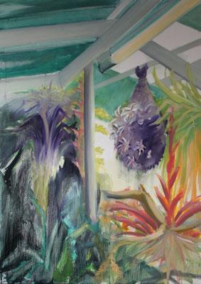 Garten IV, Öl auf Leinwand, 2013, 170 x 120 cm