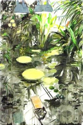 Garten I, 200 x 135 cm, Öl auf Leinwand, 2006