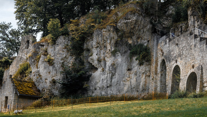 Burg Scharzfels bei Bad Lauterberg / Harz