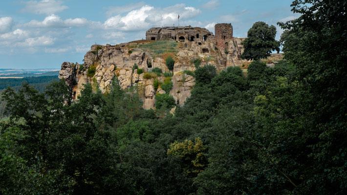 Burg Regenstein bei Blankenburg / Harz