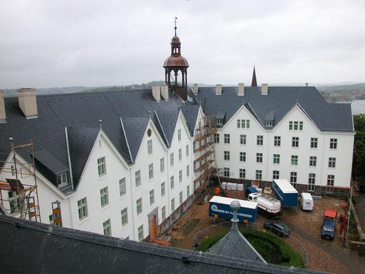 Schloss Plön: -Taubenabwehr