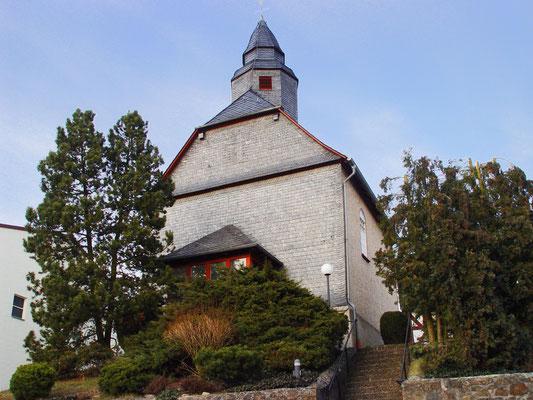 Ev. Kirche Draisbach: -Schwammsanierung /  -Zimmereiarbeiten / Fachwerkssanierung