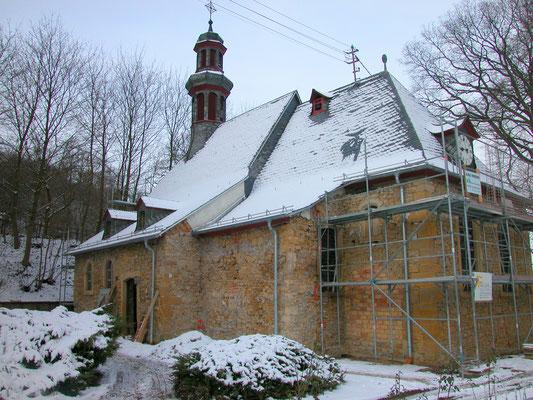 Protestantische Kirche Gaugreweiler: -Schwammsanierung
