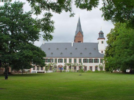 Ehem. Abtei Seligenstadt: -Bekämpfender Holzschutz im Heißluftverfahren