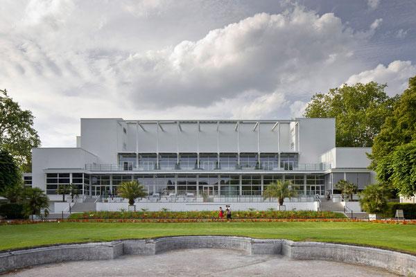 Gesellschaftshaus Palmengarten Frankfurt: -Schadensermittlung / -Schwammsanierung / -Mauerwerksfestigung