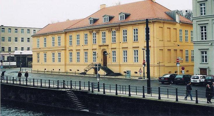 Magnushaus Berlin / Mitte: -Schwammsanierung / -Bekämpfender und Vorbeugender Holzschutz