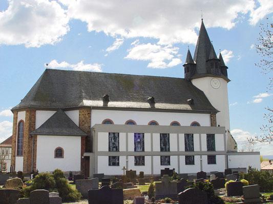 Kath. Kirche Rockenberg: -Wärmedämmung