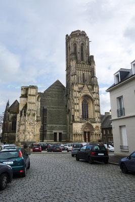 Eglise Notre Dame de Saint Lo Frankreich: -Bekämpfender Holzschutz im Mikrowellenverfahren