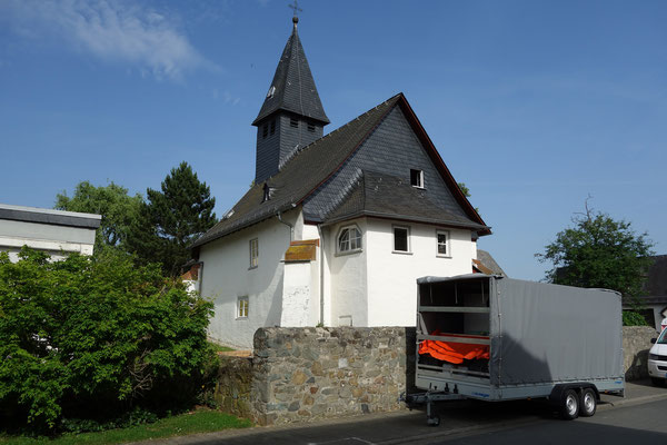 Ev. Kirche Laufdorf: -Schwammsanierung / -Bekämpfender Holzschutz im Heißluftverfahren