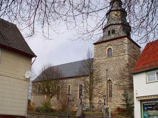 Ev. Kirche Allendorf Lumda: -Schwammsanierung