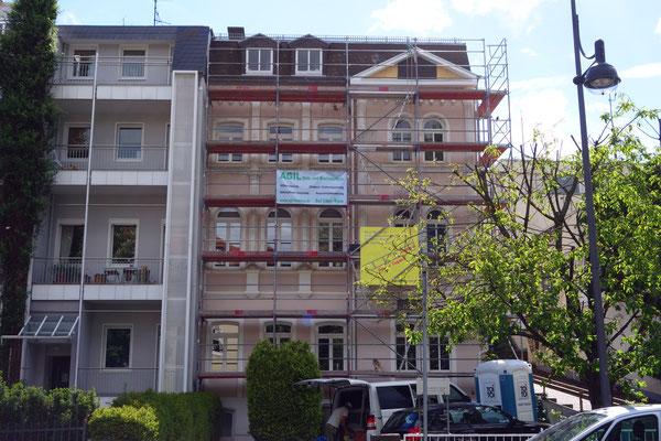 Wohnhaus Bad Homburg: -Schwammsanierung / -Zimmereiarbeiten / -Sanierung und aufarbeiten von Ziegelstein Mauerwerk