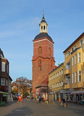 St Nikolei Kirche Berlin Spandau: -Schwammsanierung