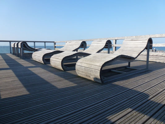 Ruhezone Seebrücke Heiligenhafen