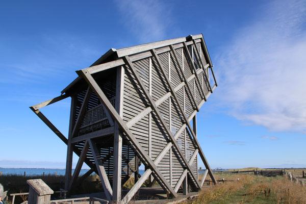 Aussichtturm im Naturschutzgebiet
