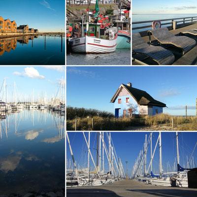 Marina, Graswarder, Binnensee, Ostsee