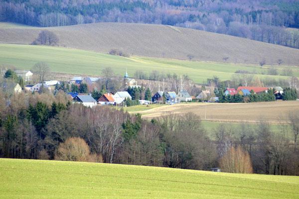 Blick vom Kapellenberg auf Bühlau  Foto: Reiner Teichler 2014