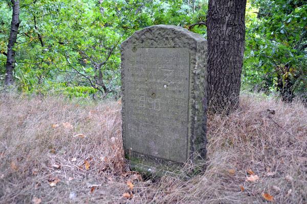 Tanneberg bei Arnsdorf  Gedenkstein
