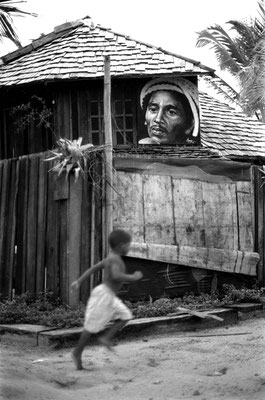 Running to Bob, Bahia 1999©Fausto Marci