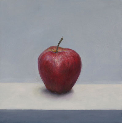 """Apfel"" 30x30, Öl auf Leinwand"