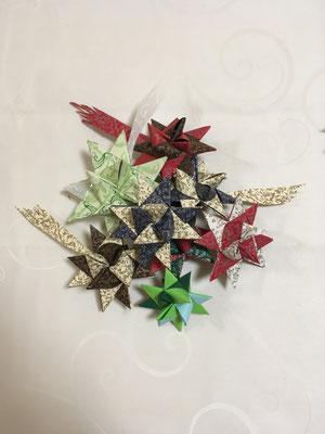 ... zauberhafte Sterne für den Weihnachtsbaum